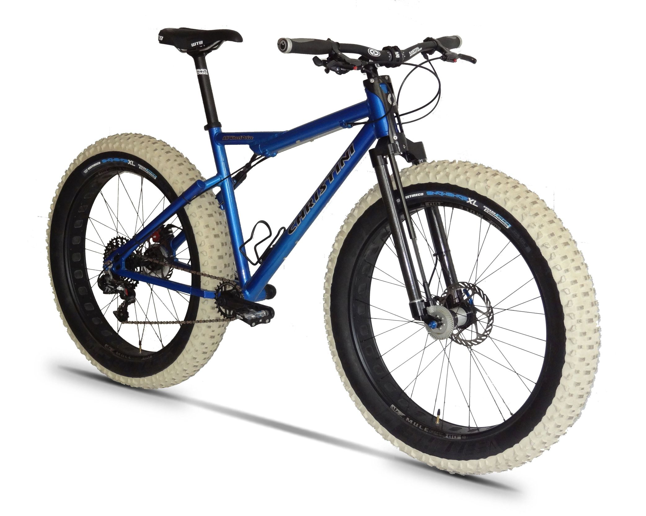 Electric Awd Fat E Bikes Christini All Wheel Drive Bicycles